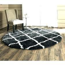 black round area rugs white rug and circle half e circle rug