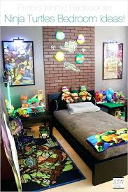 Ninja Turtles Bed Set Teenage Mutant Bedroom Turtle Toddler Project ...