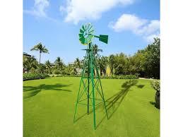 8ft ornamental decor garden windmill