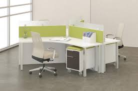 office desking. Modern Office Desk Furniture System With Lime Green Accents Desking F