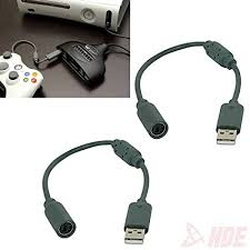 amazon com 2x wired controller usb breakaway cables cord for image unavailable image not available for color 2x wired controller usb breakaway cables cord for microsoft xbox 360