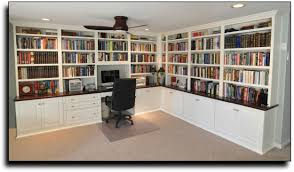custom built home office. Home Office : Custom Built Cabinets In Springfield .