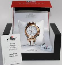 new tissot t race chronograph white dial silicone men 039 s sport watch style watch label swiss made tissot t race chronograph white dial white and rose gold tone silicone men s watch t0484172701200
