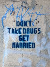 Dont Take Drugs Get Married Streetart In Germany Berlin Via