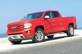 gmc 2015 truck red. 2015 chevrolet colorado and gmc canyon gmu0027s new benchmark midsize trucks gmc truck red