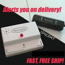 mail chime mailbox alert wireless box motion sensor notify audio alarm led usps mailbox with mail indicator u48 mail