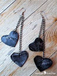 diy earrings and homemade jewelry projects tough love leather earrings easy studs ideas