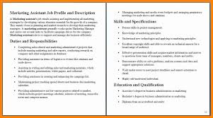 12 Marketing Coordinator Job Description Samples New Hope