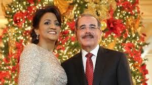 Resultado de imagen para Fotos del presidente Danilo Medina y su esposa