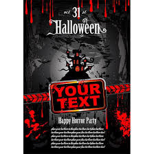 halloween template flyer 100 best halloween vector greeting card and wallpaper template