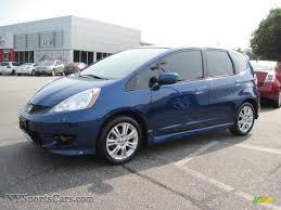 2009 Honda Fit Sport in Blue Sensation Pearl - 036883 ...