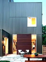 how to install siding panels corrugated metal siding installation metal siding cost to install corrugated per