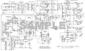 pc power supply wiring diagram wiring diagram and schematic design ponent ac power supply circuit for tv and pc puter power supply connector diagram