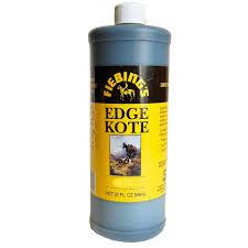 Fiebings Water Resistant Leather Edge Kote Color Coating 4 Oz
