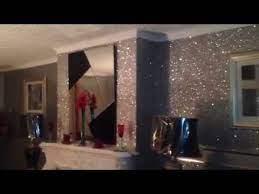 glam silver glitter wallpaper you