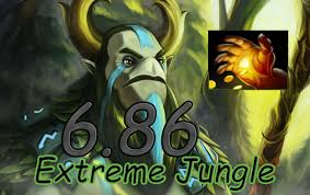 dota 2 6 86 jungle dire natures prophet midas 5 01 youtube