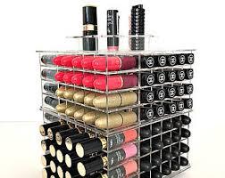 glam xl spinning lipstick organizer lipstick holder lipstick tower makeup organizer makeup
