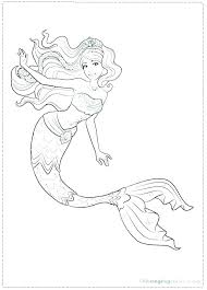 Coloring Pages Mermaid Coloring Sheets To Print Cute Pages Out