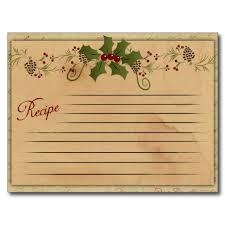 Printable Christmas Recipe Cards The Nostalgic Appeal Of Recipe Cards Curious Portraits
