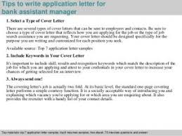 Best Ideas Of Bank Assistant Manager Application Letter Also Cover