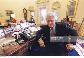 clinton oval office. Portrait Of President Bill Clinton Pictures Getty Images Oval Office