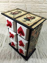 alice in wonderland furniture. alice in wonderland and playing card suits chest of by poelia 6000 furniture