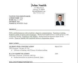 Standard Format Resume Beauteous Sample Of Job Resume Format Standard Resume Format Resume Samples