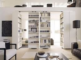 Big Bookcase Contemporary Room Divider Ideas Small Design Space
