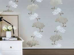 decor for large walls flower stencils for painting flower