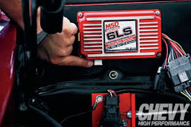 tuning a carbureted ls chevy high performance magazine msd ignition box