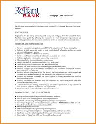 Awesome Collection Of 15 Loan Processor Resume With Mortgage Sample Best  Ideas 11 For On Loan ...