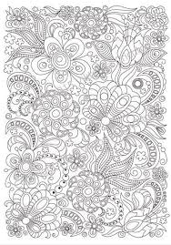 Small Picture 2976 best Coloring flowers images on Pinterest Coloring books