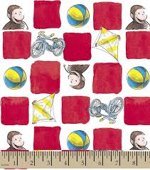 curious george bedding inspirational curious george bikes squares flannel