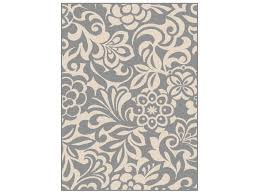 tayse rugs garden city tahari rectangular gray ivory area