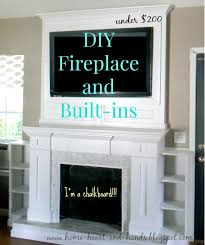 Caught In Grace A Faux Fireplace TransformationHow To Build A Faux Fireplace