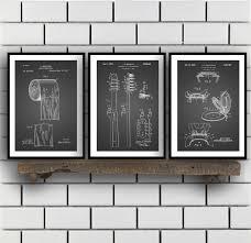 bathroom wall decor. Bathroom Poster, Art, Decor, Toilet Paper, Seat, Tooth Brush, Wall 3 Set Decor
