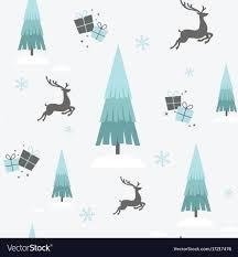 Christmas reindeer winter seamless ...