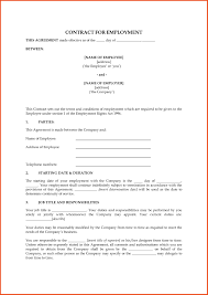 Employee Contract Templates Uk Templates Resume Examples