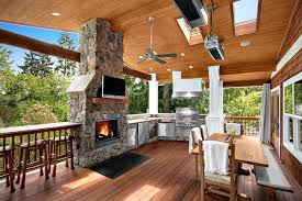 kitchens with fireplace a lovely patio kitchen ina outdoor kitchens fireplaces