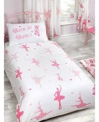 born to ballerina single duvet cover bedding set