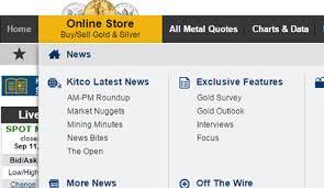 Kitco Com New Features