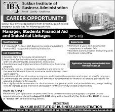 jobs in sukkur institute of business administration jobs in jobs in sukkur institute of business administration
