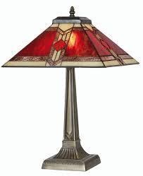 oaks lighting aztec tiffany table lamp amazoncouk lighting