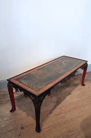 1930s spanish chinoiserie coffee table