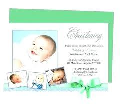 Baptism Invitation Templates Free Download Card Design