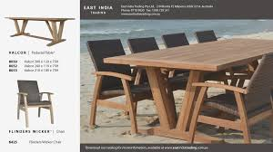 outdoor dining chairs australia wonderful teak and wicker outdoor furniture nmedia picture