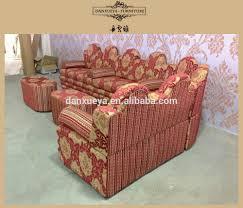 Antico elegante divano in stile arabo set da sposa cinese rosso