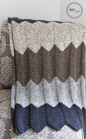 Chevron Crochet Blanket Pattern Mesmerizing Ravelry Neutral Chevron Blanket Pattern By Krista Cagle