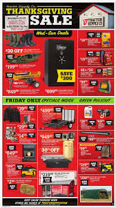 Checkout Tractor Supply Black Friday Ad Scan