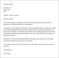 Second Interview Thank You Letter Template Gdyinglun Com
